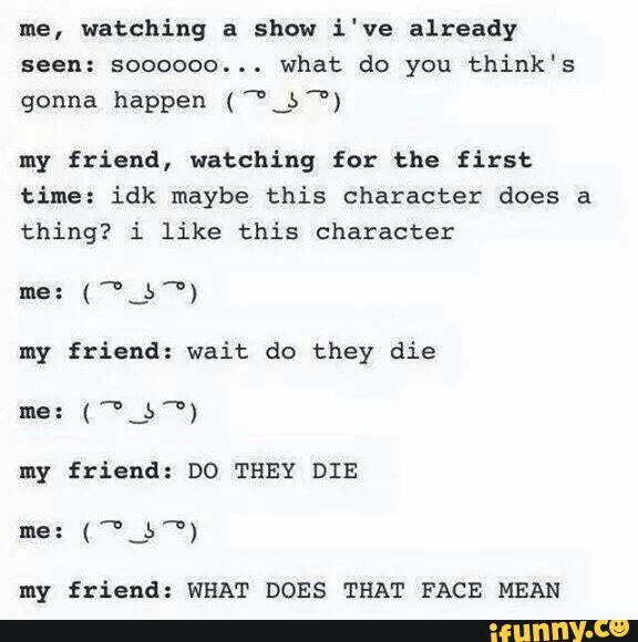 Funny, text, watching anime show, friend; Otaku