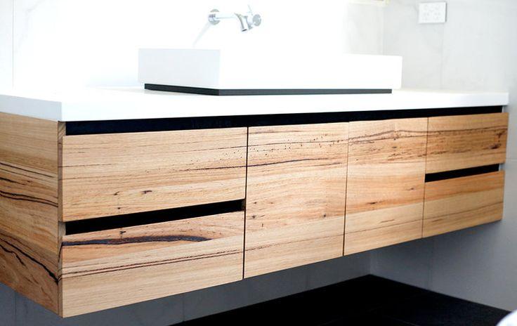 Bombora custom timber vanity