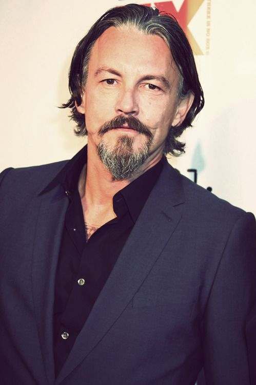 Something about Tommy Flanagan, the long hair, the scar, the accent...yes please!