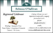 Business card http://www.celebrantservice.com