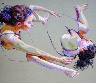 "Saatchi+Online+Artist+Cristina+Troufa;+Painting,+""""Carga""+(burden)+SOLD""+#art"