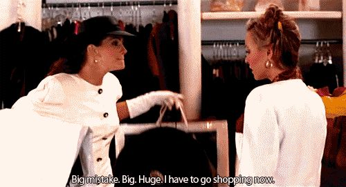 This shopping scene in Pretty Woman may be our favorite of all time. #Shopping #PrettyWoman