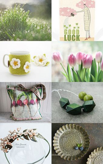 Little garden by Tiziana on Etsy--Pinned with TreasuryPin.com