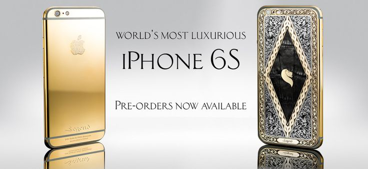 Legend | 24k Gold iPhone 6S and more - Bespoke luxury electronics
