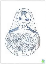 babushka coloring pages - photo#6