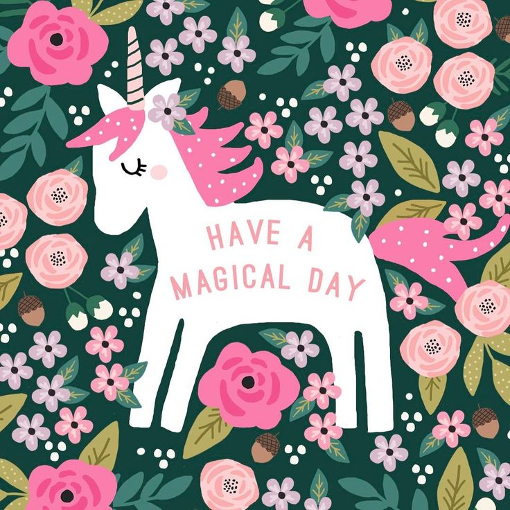 Ha e a magical day unicorn graphic design