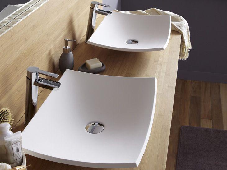 17 meilleures id es propos de vasque sur pinterest for Salle de bain longue et etroite