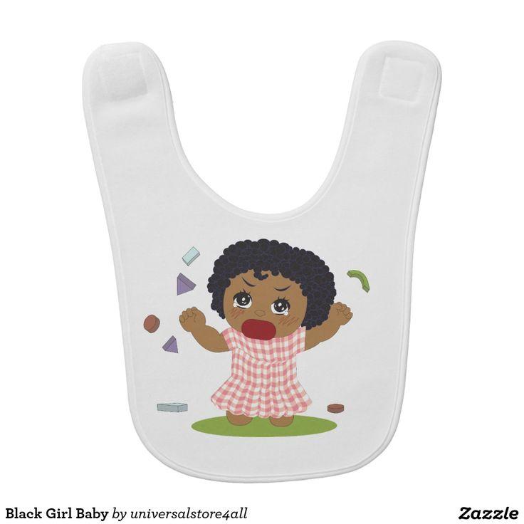 Black Girl Baby Bibs