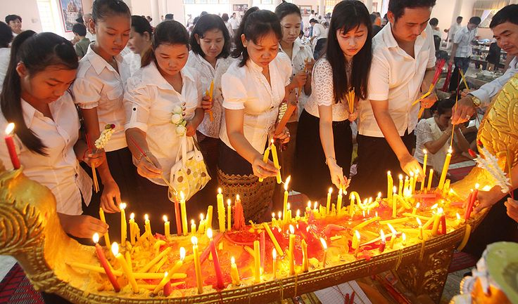 Pchum Ben is the most important festival in the Khmer religious calendar; respect and remembrance for their ancestors.
