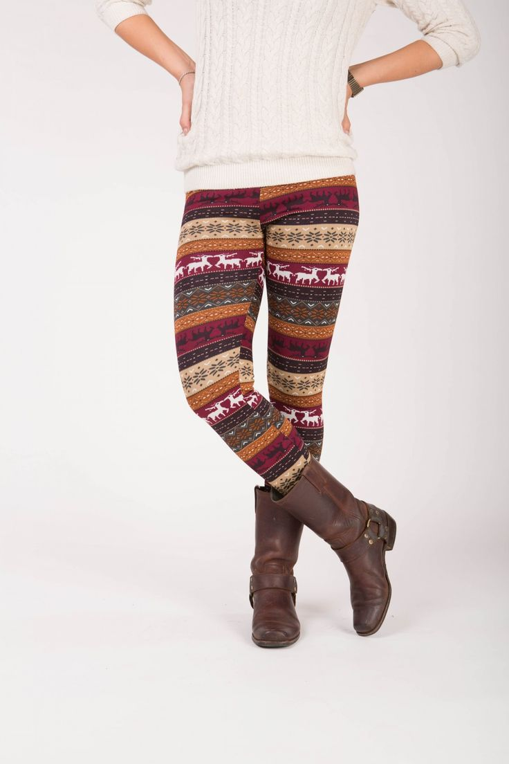 Lumi - Winter warme legging met fleece