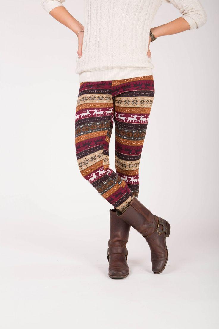 Lumi - Winter warme legging met fleece
