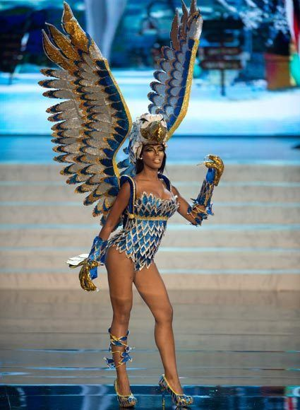 MIss Universe National Costumes 2012  Miss Curacao
