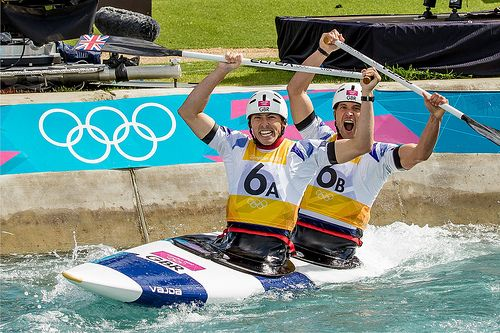 Richard Hounslow - London 2012 Team GB Silver Medal winner in the C2 canoe slalom
