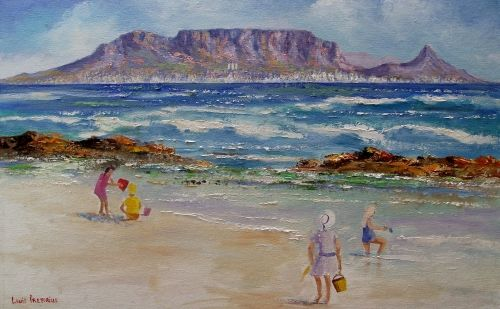 Buy TABLE MOUNTAIN FROM BLOUBERG (590mm x 430mm)for R860.00