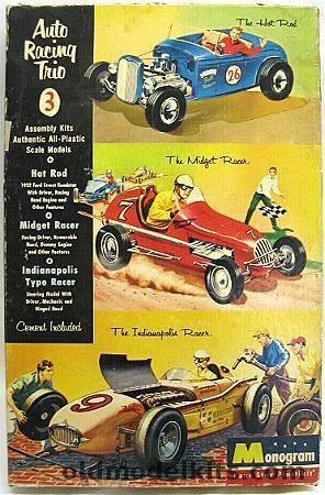Midget race car kit