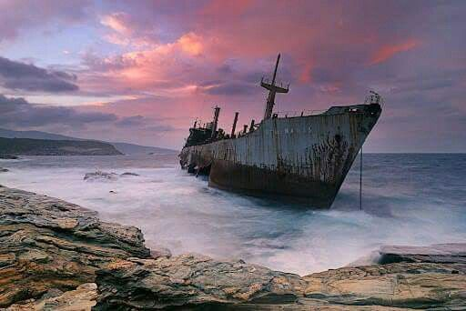 Shipwreck, Githio Lakonia, Peloponesse, Greece