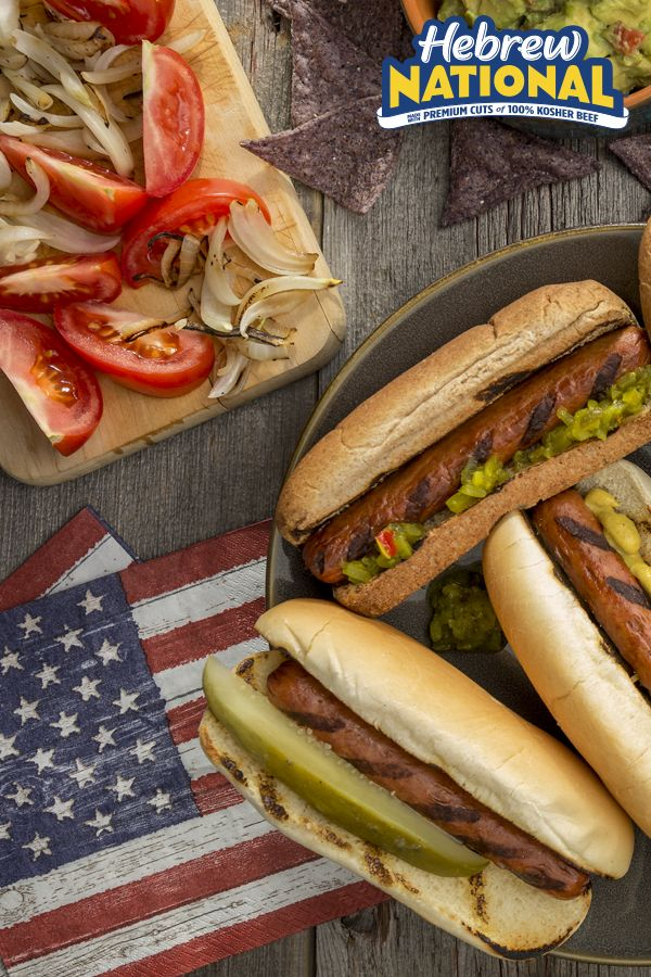 Hebrew National S Got You Covered For The Official Kickoff To Grillingseason With Images Hot Dogs Recipes Easy Fourth Of July Recipe Grilling Recipes