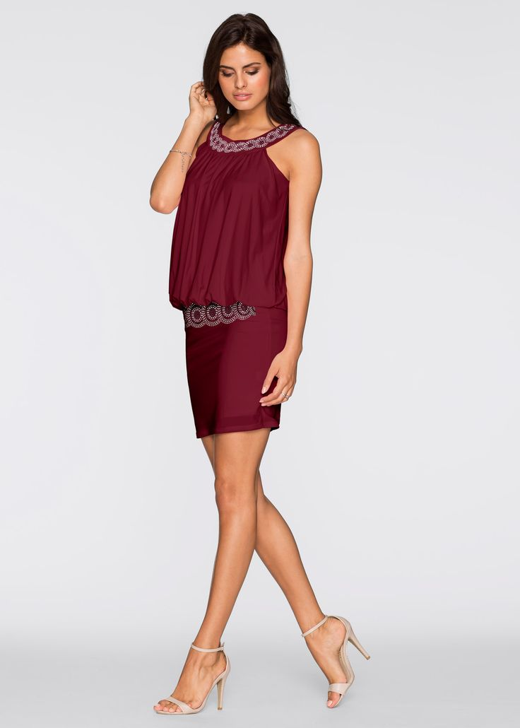 Cocktail-Kleid ahornrot - BODYFLIRT jetzt im Online Shop von bonprix.de ab ? 27,99 bestellen. Punkten Sie bei besonderen Anlässen mit diesem wunderschönen ...