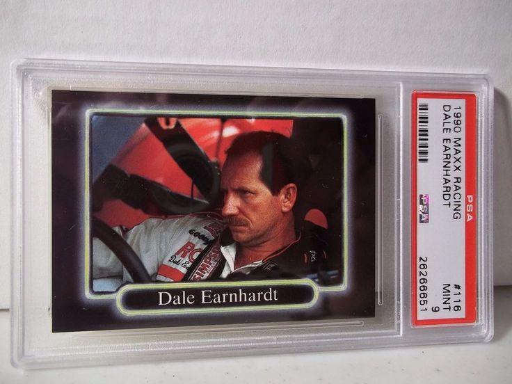 1990 Maxx Dale Earnhardt PSA Mint 9 Racing Card #116 NASCAR Collectible
