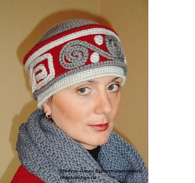 Ravelry: Russian Winter Hat pattern by Olga Shepetilnikova