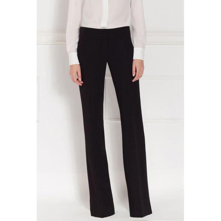 Zega Store - Pantaloni negri drepti, Nissa - ZGA73375 - Culoare…