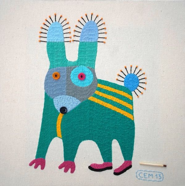 New Textile Works by Ivan Semesyuk