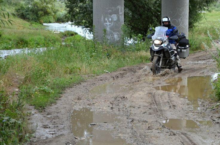 Moldavsko 2013 - Když navigace navádí..