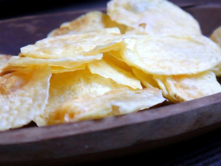 papas chips al microondas