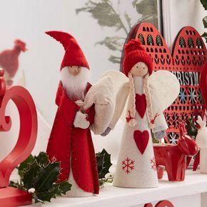 Nordic Tree Topper Angel Or Santa