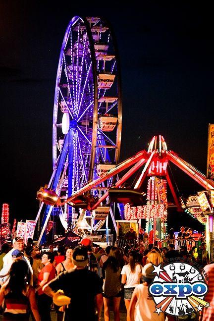 Expo de Trois-Rivières - C'est toujours la fête !   http://www.expotr.ca/ #TResTR #troisrivieres #maneges #expo