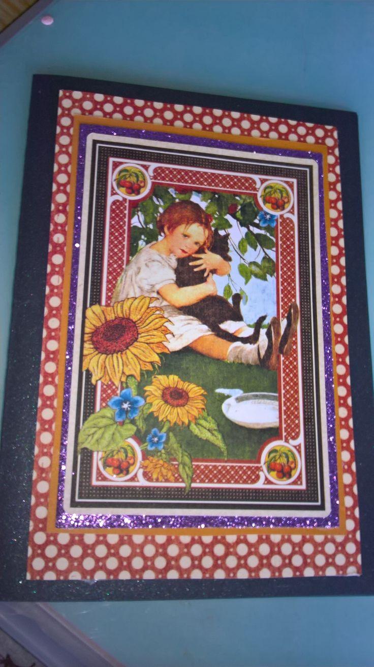 Graphic 45 card by JuliAnn Designs