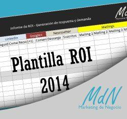 Plantilla ROI 2014