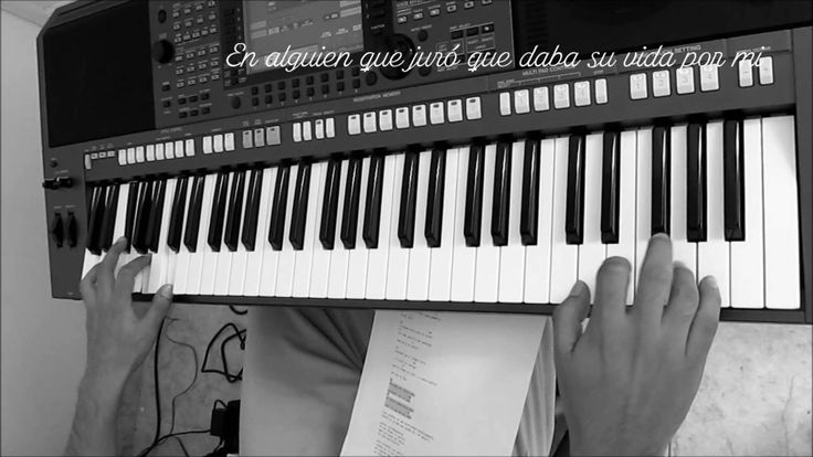 Abrázame muy fuerte - Juan Gabriel (Cover en piano)