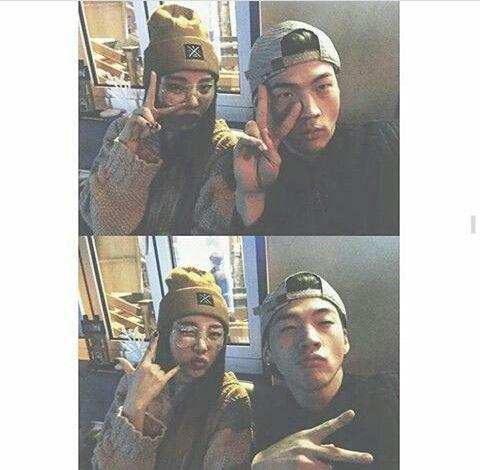 Jiwoo and BM