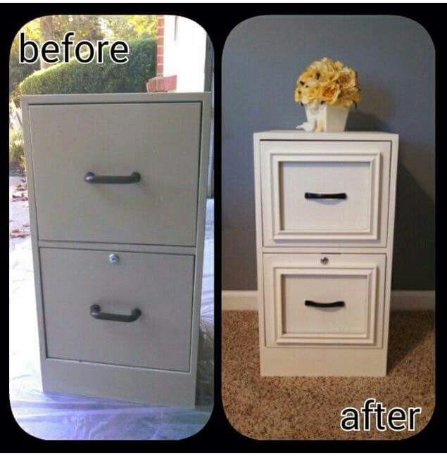 Upgrading a standard file cabinet