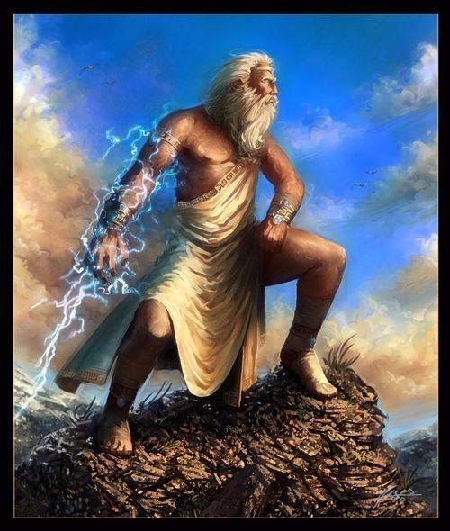 Zeus-his symbols are t...
