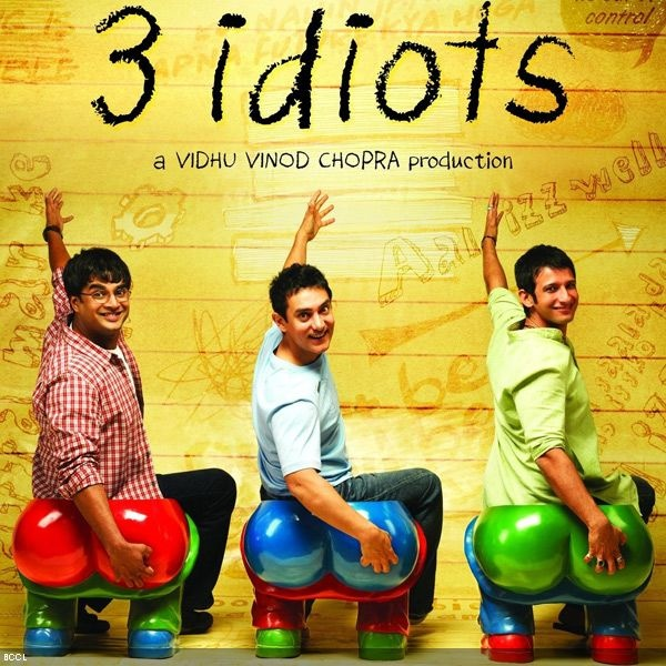 3 Idiots | Bolly Adaptations - Books To Cinema