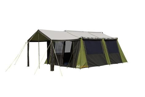 Kakapo 8 Canvas Tent