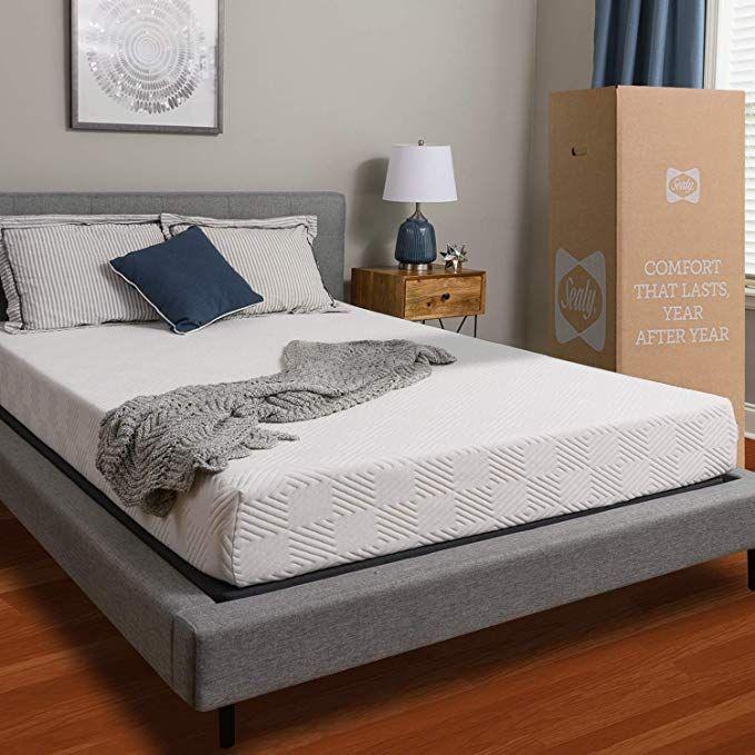 Amazon Com Sealy 8 Inch Memory Foam Bed In A Box Adaptive