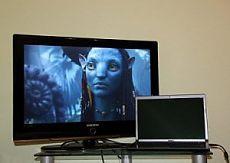 Подключение компьютера к телевизору через переходник