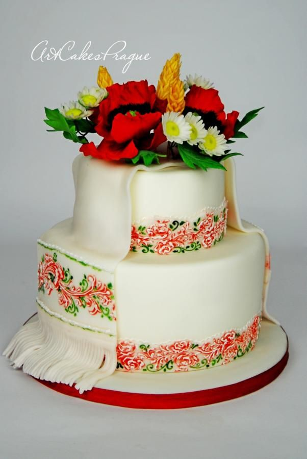 Best images about folk art cakes on pinterest fiesta