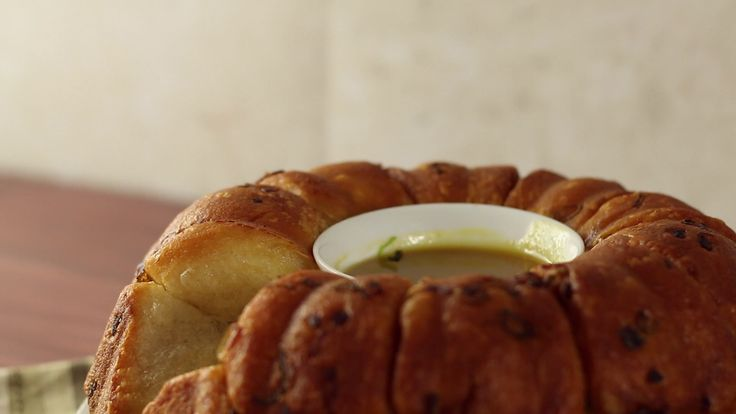 Ham And Cheese Monkey Bread