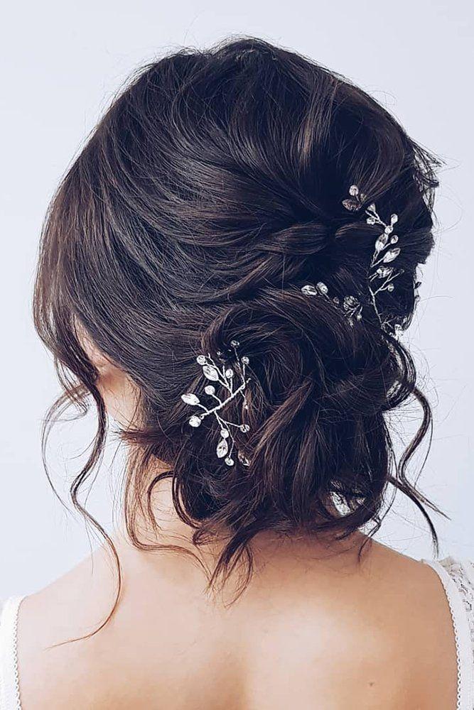48 Trendiest Short Wedding Hairstyle Ideas Wedding Forward In 2020 Short Wedding Hair Hair Styles Short Hair Styles