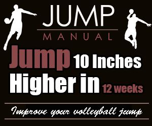 Increase your vertical jump height by up to 10 inches in just 10 weeks for effective volleyball attacks at the net. Vertical Explosion Training Program