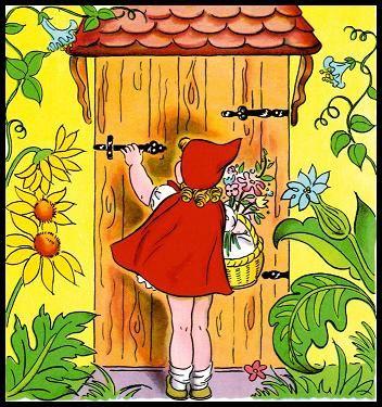 Красная Шапочка Иллюстрации К Сказке.