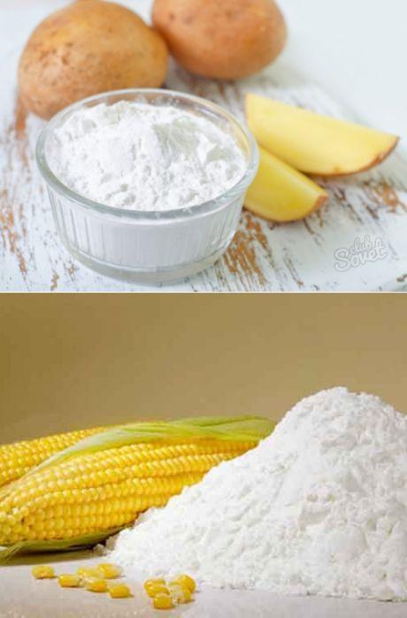 Картофельный и кукурузный крахмал: в чем разница? | Четыре вкуса