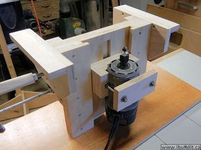 The 25 best homemade router table ideas on pinterest diy make this router lift for your router table or mount it in a table saw greentooth Choice Image
