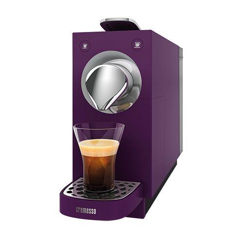 Cremesso Una Velvet Purple automata eszpresszó kávéfőző, 1455 W, 0.65 l, 19 Bár, Kapszulás, Lila - eMAG.hu