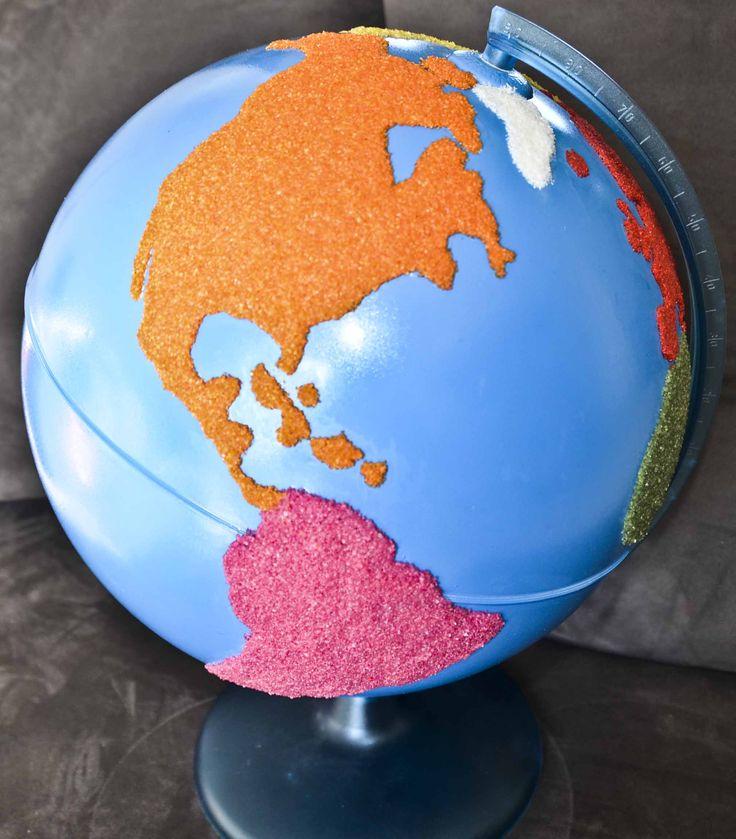 Fabriquer son globe Montessori