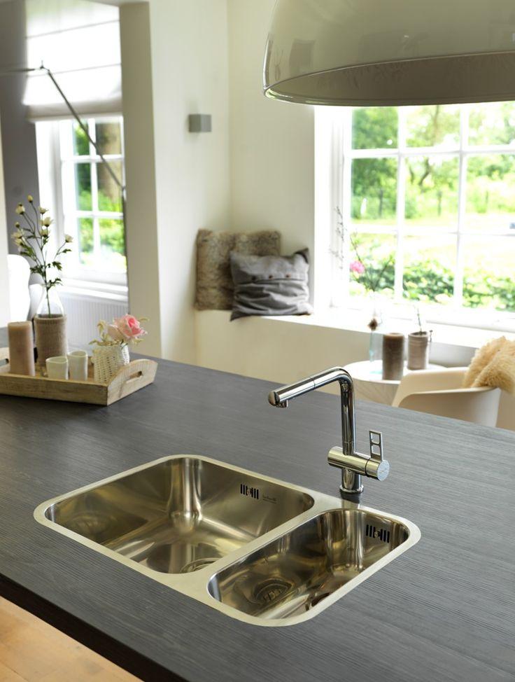 Stainless Steel Kitchen Sink Model Ib 40x40 18x40